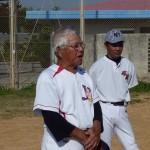 正月野球と泉のおじさん