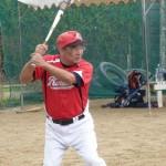 首里高校野球部OBの先輩との試合